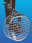 Full cage safety propeller guard for safety of swimmers.